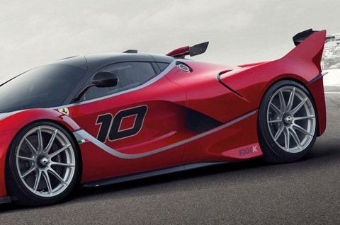 Ferrari FXX K: Now, this is done