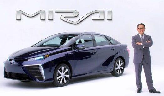 Toyota FCV has a name: Mirai