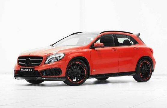 Mercedes GLA AMG Sport package by Brabus