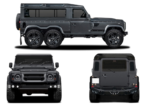 Kahn Design and Land Rover Defender 6×6