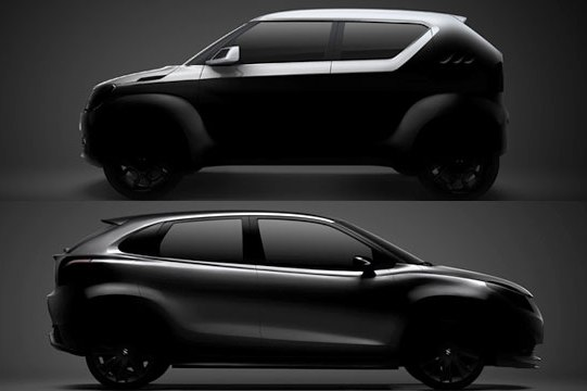 Geneva 2015: Two concepts for Suzuki, iK-2 and iM-4