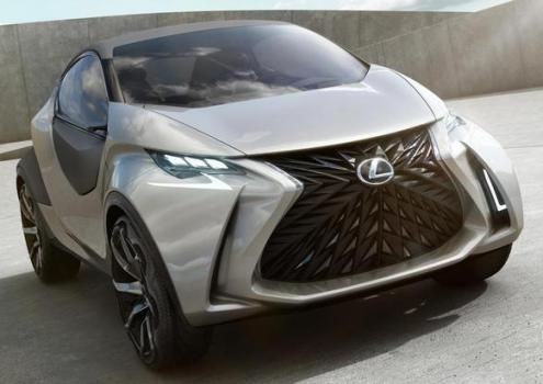 Lexus LF-SA Concept in advance