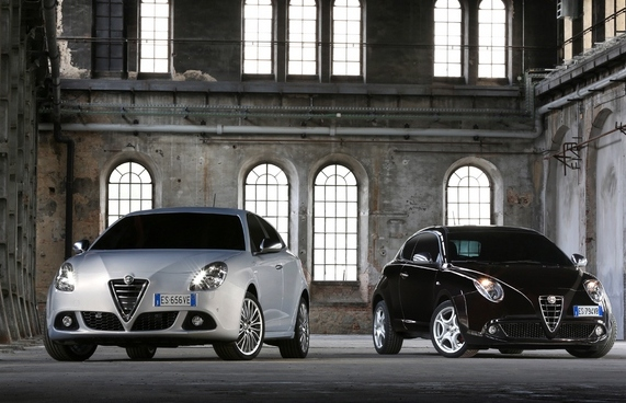 Alfa Romeo MiTo and Giulietta