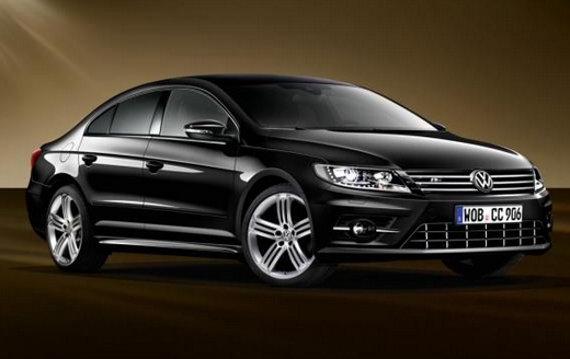 Volkswagen unveils the CC Dynamic Black