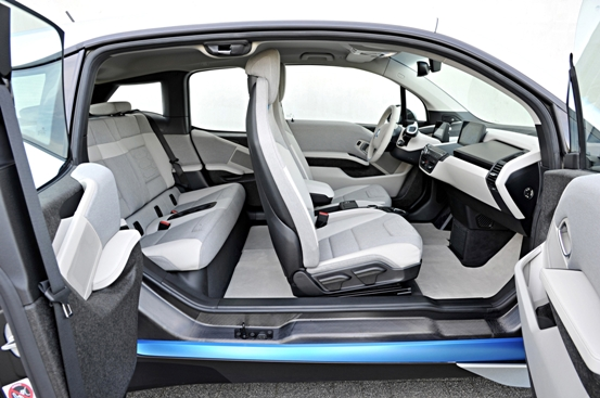 BMWi3 Takes Away The Best Interiors For 2015
