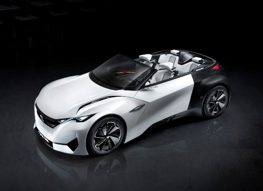 Peugeot Fractal, electric urban coupe