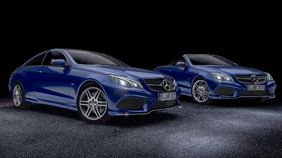 Mercedes E-Class Coupe and Cabriolet: Two new special editions