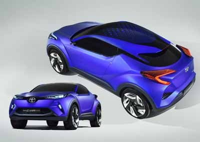 The New Toyota C-HR Concept
