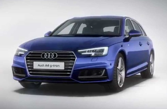 The Audi A4 G-tron announced