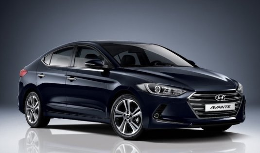 new Elantra from Korea