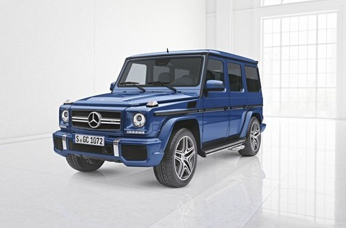 Mercedes launches its Designo Manufaktur division for the G-Class