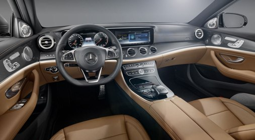 On board the new Mercedes E-Class