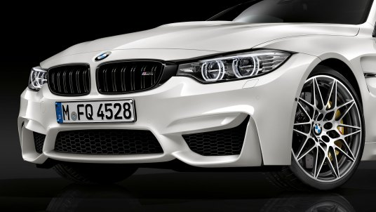 The BMW M3 and BMW M4 Competition Package increase performance