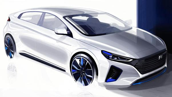 Hyundai Ioniq, ready for the Geneva Auto Show