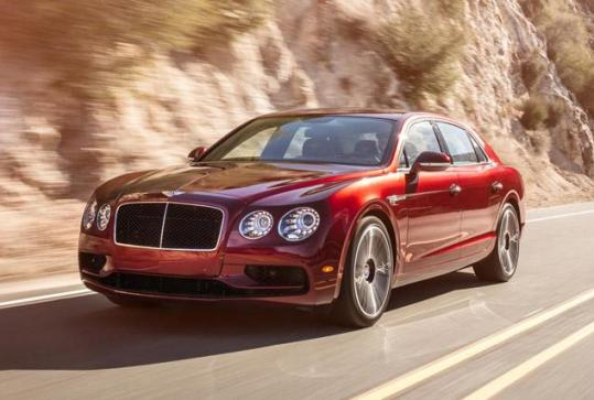 Bentley Flying Spur V8 S, more refined and world sports sedan