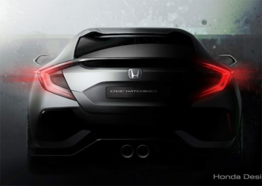 Honda Civic 5 door prototype at the Geneva International Motor Show