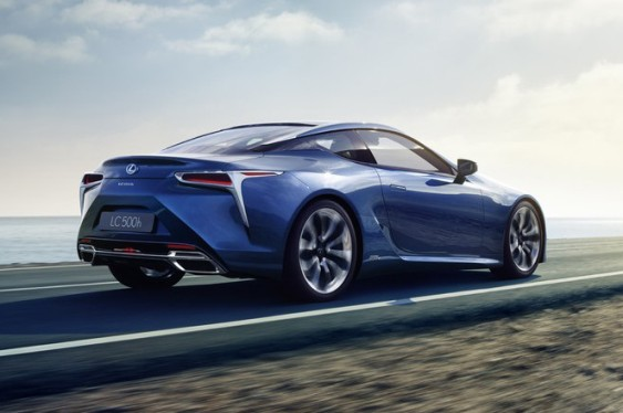 Lexus announced a new sports luxury hybrid: The LC 500h