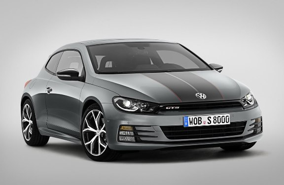 The Volkswagen Scirocco GTS will arrive in July