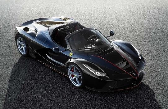 Ferrari LaFerrari, also to open sky