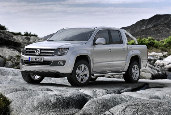 The SUV of the Volkswagen Amarok comes
