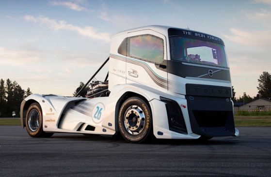 Volvo Iron Knight, the fastest truck in the world
