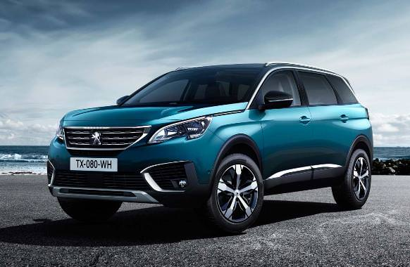 The new Peugeot 5008 is now a SUV (with seven-seater)