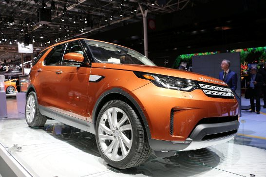 This is the new generation of Land Rover Discovery