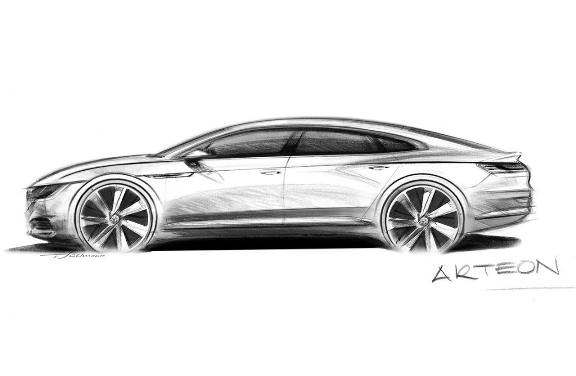 Volkswagen Arteon with replacement of CC