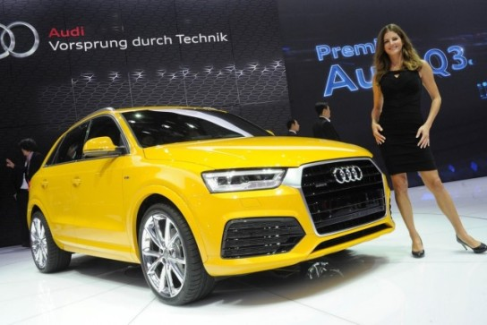 Anticipate the new generation of the Audi Q3