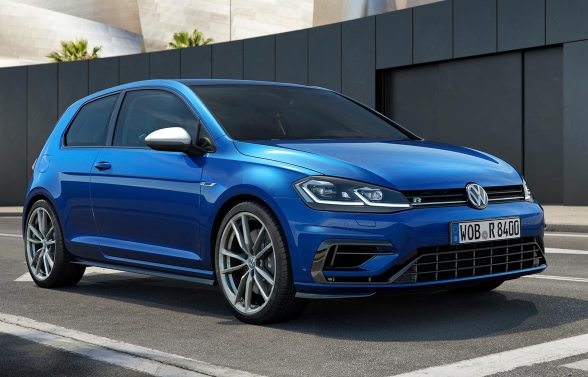 Volkswagen Golf R, now with 310 horses