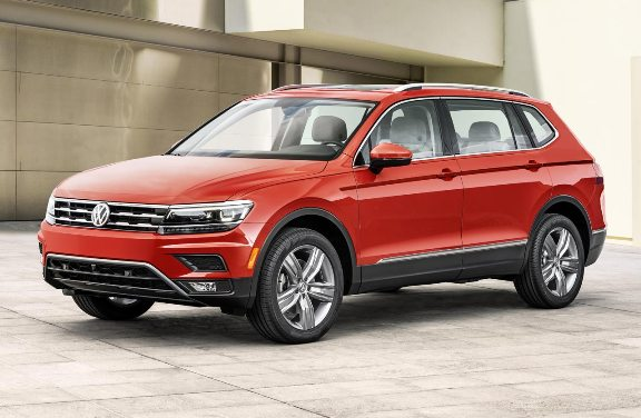 This is the VW Tiguan Allspace, with extended bodywork