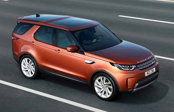 2017 Land Rover Discovery: All official data