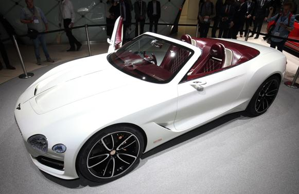 Bentley EXP 12 Speed 6e the surprise EV of the English manufacturer in Geneva
