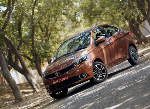 Tata Motors launches its small sedan Tigor to the Indian market