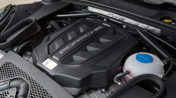 engine for the 2018 Porsche Macan engine