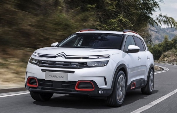 New Citroen C5 Aircross, ready for the Shanghai Show