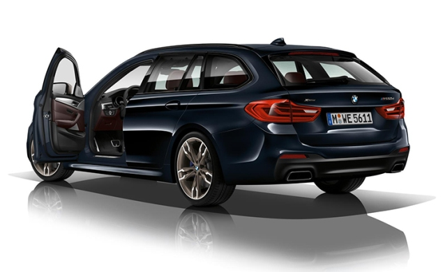 New BMW M550d xDrive: Four turbos for the world's most powerful 6L diesel