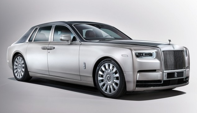2018 Rolls-Royce Phantom presented in London