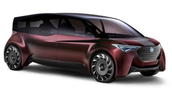 Toyota Fine-Comfort Ride: Six-seater saloon with hydrogen battery