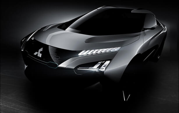 The Mitsubishi e-Evolution Concept goes ahead with these teasers