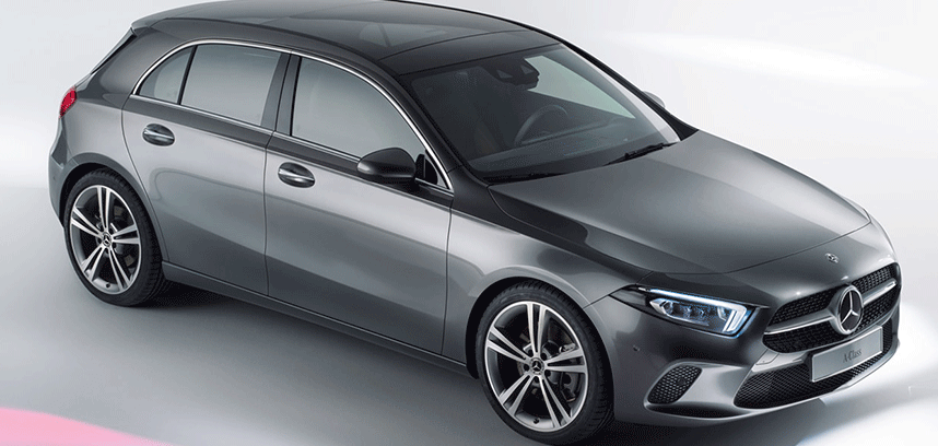 Choose how to drive your new car with the Mercedes A-Class