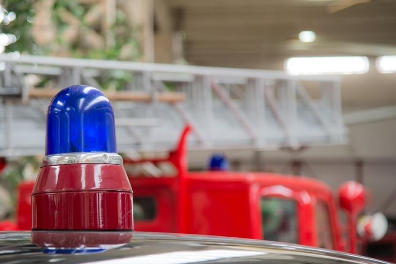 emergency vehicle warning lights